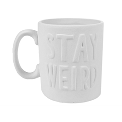 MUGS Stay Weird Mug/6 SPO