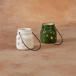 HOME DÉCOR SMALL JAR STAR LANTERN/8 SPO