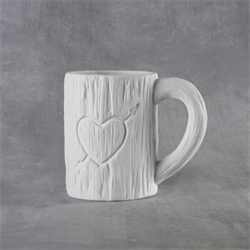 MUGS Tree Carved Heart Mug 12oz./6 SPO