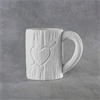 MUGS Tree Carved Heart Mug 12oz./6