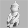 BANKS Sock Monkey Bank/6 SPO