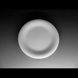 PLATES Coupe Bread Plate/12 SPO