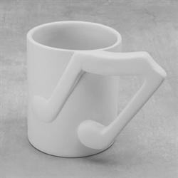 MUGS Music Note Mug, 10oz/6 SPO