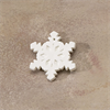 SEASONAL FLAT SNOWFLAKE ORNAMENT/24 SPO