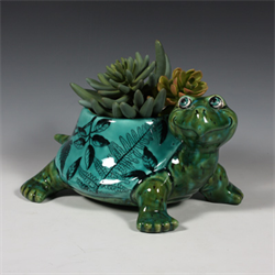 HOME DÉCOR Turtle Planter/3 SPO