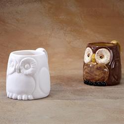 MUGS OWL MUG/8 SPO