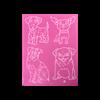 Dogs 1 Silkscreen/1 SPO
