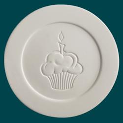 PLATES Small Cupcake Dinner Plate/6 SPO