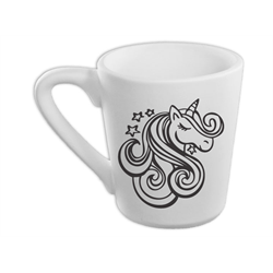 MUGS Unicorn Beauty Mug/4 SPO