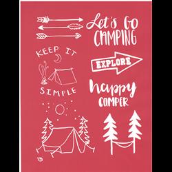 Let's Go Camping Silkscreen/1 SPO