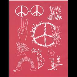 Spread Peace Silkscreen/1 SPO