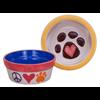 BOWLS Paw Print Pet Bowl/4 SPO
