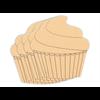 Cupcake Plaque/4 SPO