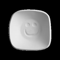 BOWLS Soft Square Smile Bowl/3 SPO