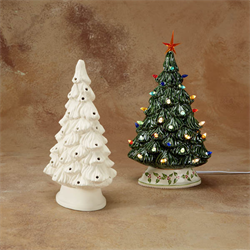 SEASONAL SHELF CHRISTMAS TREE/2 SPO