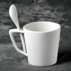 MUGS Snack Mug w/ Spoon/6