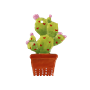 SEASONAL Potted Cactus Ornament/12 SPO