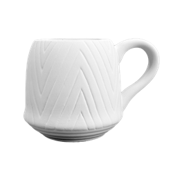 MUGS Twisted Chevron Mug/4 SPO