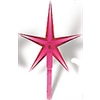 LARGE CRYSTAL STARS (Pkg. of 5)