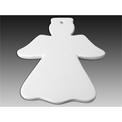 SEASONAL Flat Angel Ornament/12 SPO