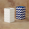 HOME DÉCOR CHEVRON VASE/6 SPO