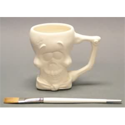 MUGS SKELETON MUG/6  SPO