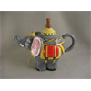 KITCHEN Circus Elephant Teapot/2 SPO