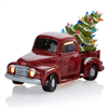 SEASONAL VINTAGE TRUCK WITH TREE W/LIGHT KIT/2
