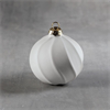 SEASONAL Ribbon Striped Ornament/12 SPO