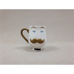 MUGS Mr. Mustache Mug/6 SPO