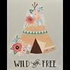 Pattern Pack - Wild & Free TeePee/1 SPO