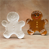 SEASONAL GINGERBREAD PLATE/6 SPO