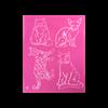 Cats 1 Silkscreen/1 SPO