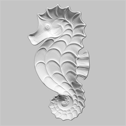 PLATES Sea Horse Dish/8 SPO