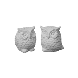 KITCHEN Hoot Salt and Pepper Set/4 SPO