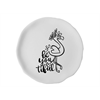 PLATES Be-You-Tiful Flamingo Plate/6 SPO