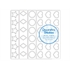 """3/4"""" Decorative Stickies Assortment/1"""
