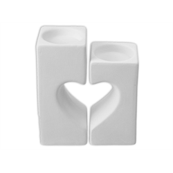 HOME DÉCOR Heart Tea Light Holder/4 SPO