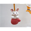 SEASONAL Rabbit Ornament/12 SPO