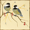 Pattern Pack - Chickadees and Berries/1 SPO