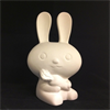 KIDS RAVIN RABBIT FIGURINE/6 SPO