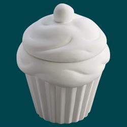 BOXES Large Cupcake Cookie Jar/6 SPO