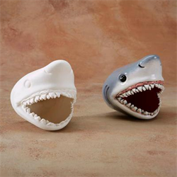 TILES, ETC. SHARK WALL PLAQUE/6 SPO