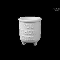 HOME DÉCOR You Grow Girl Planter/4 SPO