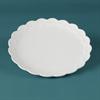 PLATES SCALLOPED DINNER PLATE/12 SPO