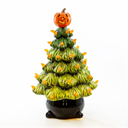 HOME DÉCOR HALLOWEEN TREE LIGHT UP/2 SPO