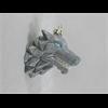 SEASONAL Origami Wolf Ornament/6 SPO
