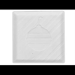 PLATES Square Ornament Dish/12 SPO