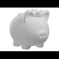 BANKS Princess Pig Bank/4 SPO