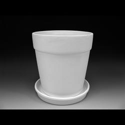HOME DÉCOR XL Flower Pot w/Tray/1 SPO